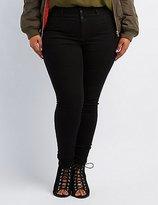 """Charlotte Russe Plus Size Refuge """"""""Hi-Waist Super Skinny"""""""" Jeans"""