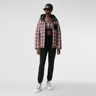 Burberry Reversible Tartan Nylon Puffer Jacket