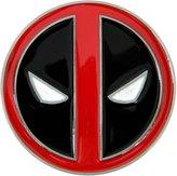 AV8America Deadpool Die Cast Chrome Finish Enameled Belt Buckle