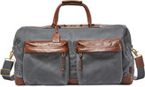 Fossil Men's Defender Waxed Canvas Duffel Bag