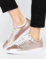 Lacoste Carnaby Evo Rose Gold Sneakers