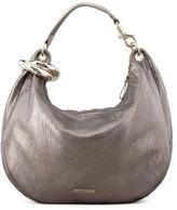 Jimmy Choo Solar Metallic Bracelet Hobo Bag, Gray