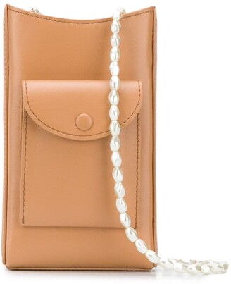 Cafune Camber beaded-strap crossbody bag