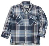 Sovereign Code Boys' Lightweight Plaid Flannel Shirt - Baby