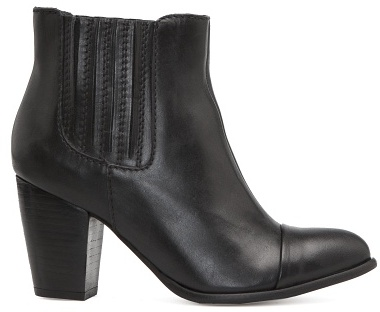 MANGO TOUCH - Backstitching pointy ankle boots