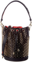 Christian Louboutin Marie Jane Leather Bucket Bag