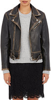IRO Women's Wynter Moto Jacket-BLACK