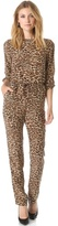 ONE by Amour Vert Leopard Jumpsuit