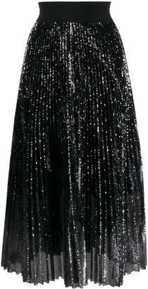 Dorothee Schumacher Sequin Pleated Skirt