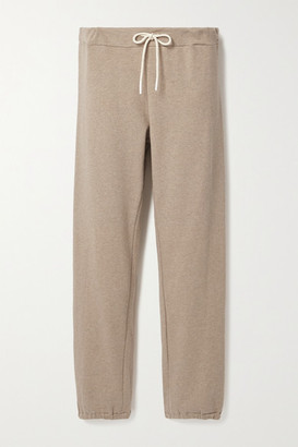Tory Sport French Cotton-blend Terry Track Pants - Beige