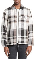 Our Legacy Men's Tech Plaid Zip Front Jacket