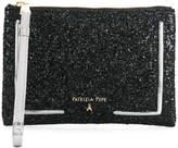 Patrizia Pepe glitter clutch