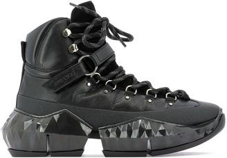 Jimmy Choo Diamond Army Boots
