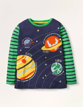 Lift-the-flap Space T-shirt