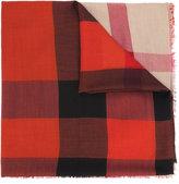 Burberry signature print scarf