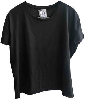 Zoe Karssen Black Cotton Top for Women