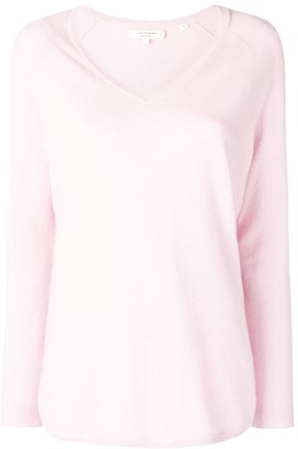 Chinti and Parker V-Neck Cashmere Sweater