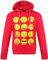 Generic KIDS EMOJI EMOTICONS SMILEY FACES LONG SLEEVE HOODIES TOPS GIRLS AGE NEW 9-13 YEARS