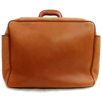 Gucci Camel Leather Travel bags