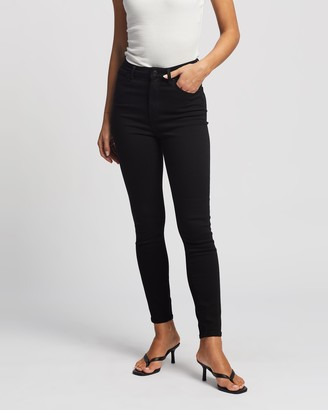Neuw Women's Black Skinny - Marilyn Skinny Jeans - Size 24 at The Iconic