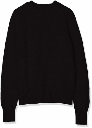 Meraki Women's Boxy Crew Neck Sweater
