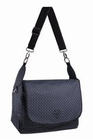Lassig 4 Family Gold Label - Reversible Messenger Diaper Bag (Black)