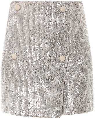 Rotate by Birger Christensen Sequin-Embellished Skirt