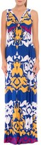Olian Women's 'Ellie' Print Maternity Maxi Dress