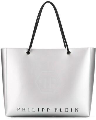 Philipp Plein Metallic Tote Bag