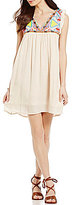 O'Neill Cove Emboridered and Beaded Swing Dress