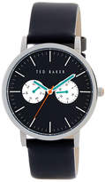 Ted Baker Men's Smart Casual Leather Strap Watch