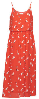 Moony Mood PAULINE women's Long Dress in Red
