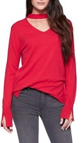 Sanctuary Women's Rebecca Choker Neck Sweater