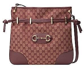 Gucci Women's Large 1955 Horsebit Messenger Bag