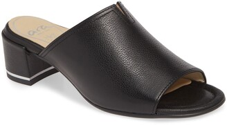 ara Gerty Notch Vamp Slide Sandal