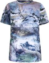 Yumi Mountain Print Top