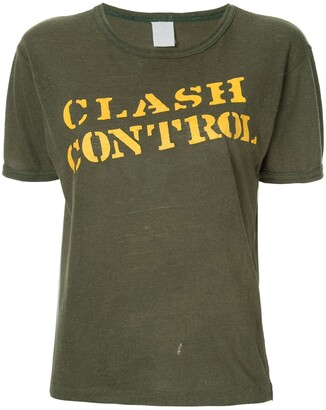 Fake Alpha Vintage The Clash T-shirt