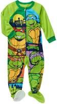 Nickelodeon TMNT Toddler Little Boys Footed Blanket Sleeper Pajama (T)