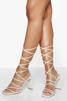 Thumbnail for your product : boohoo Flat Heel Strappy Sandal