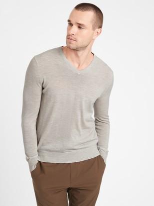 Banana Republic Merino V-Neck Sweater in Responsible Wool