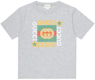 Gucci Kids Baby logo cotton T-shirt