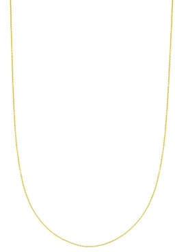 Tous 18K Yellow Gold-Plated Sterling Silver Chain Necklace, 35