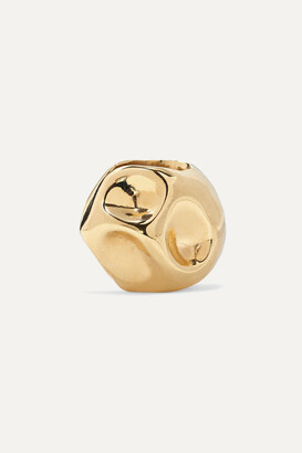 ANNE MANNS Edeltraud Gold-plated Ear Cuff - one size