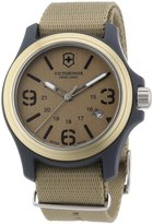 Victorinox Men's 241516 Original Tan Dial and Strap Watch Watch