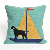 Liora Manné Whimsy Boat Dog Pillow, Yellow