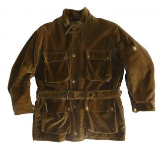 Belstaff Brown Velvet Jackets