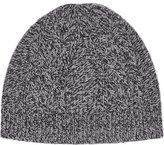 Reiss Claude Mottled Beanie Hat