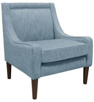 Bungalow Rose Theodosia Armchair Upholstery Color: Denim Blue