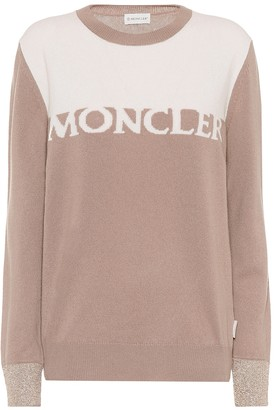 Moncler Wool and cashmere intarsia sweater