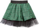 Beary Basics Green & Black Plaid Skirt - Toddler & Girls
